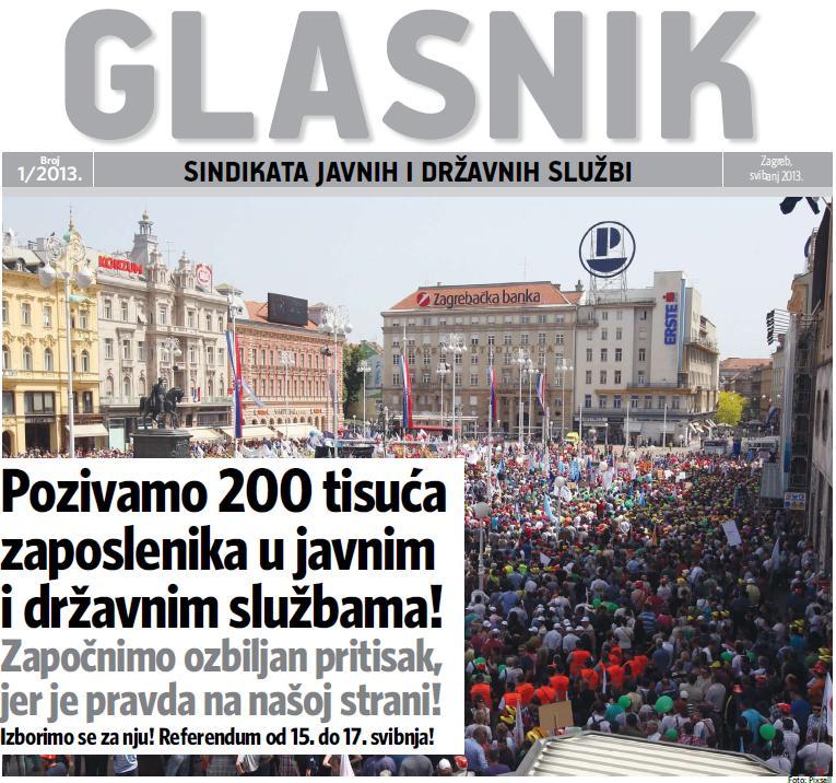 Glasnik sindikata javnih i državnih službi 2013-1 svibanj